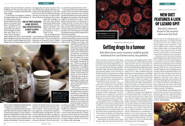 Article Preview: Getting drugs to a tumour, June 2012 | Maclean's