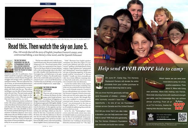 Article Preview: Read this. Then watch the sky on June 5., June 2012 | Maclean's
