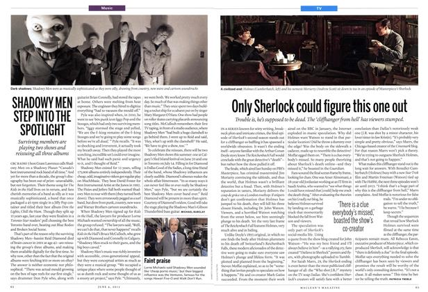 Article Preview: Only Sherlock could figure this one out, June 2012 | Maclean's
