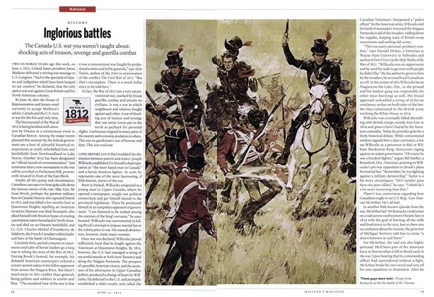 Article Preview: Inglorious battles, June 2012 | Maclean's