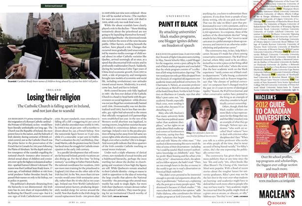 Article Preview: Losing their religion, June 2012 | Maclean's