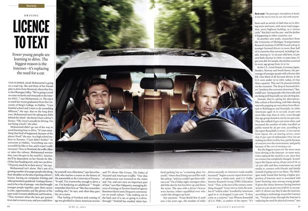 Article Preview: LICENCE TO TEXT, June 2012 | Maclean's