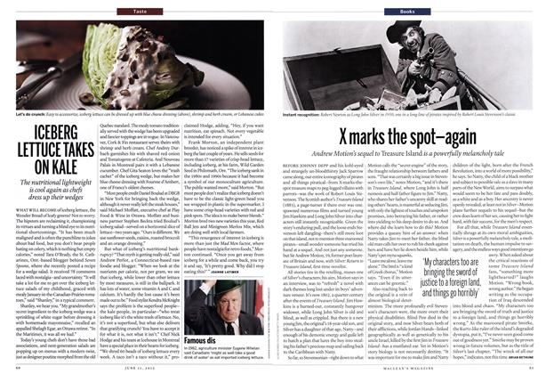 Article Preview: X marks the spot—again, June 2012 | Maclean's
