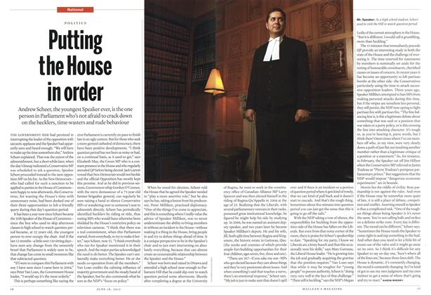 Article Preview: Putting the House in order, June 2012 | Maclean's