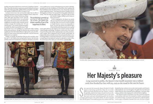 Article Preview: Her Majesty's pleasure, June 2012 | Maclean's