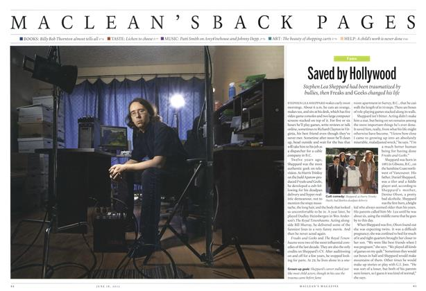 Article Preview: Saved by Hollywood, June 2012 | Maclean's