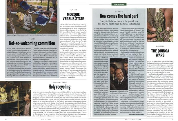Article Preview: MOSQUE VERSUS STATE, June 2012   Maclean's