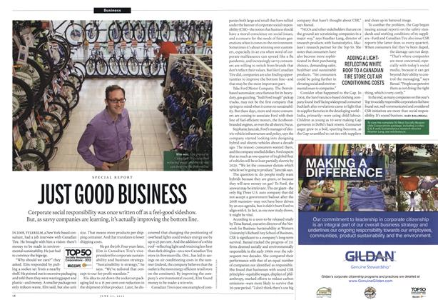 Article Preview: JUST GOOD BUSINESS, June 2012 | Maclean's