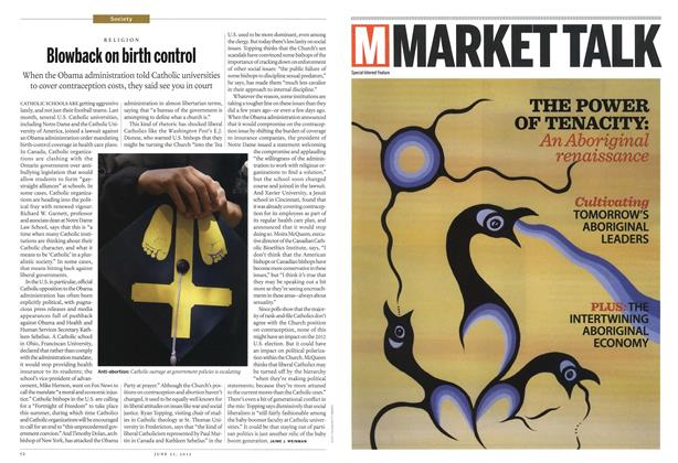 Article Preview: Blowback on birth control, June 2012 | Maclean's