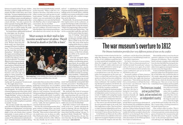 Article Preview: The war museum's overture to 1812, June 2012 | Maclean's