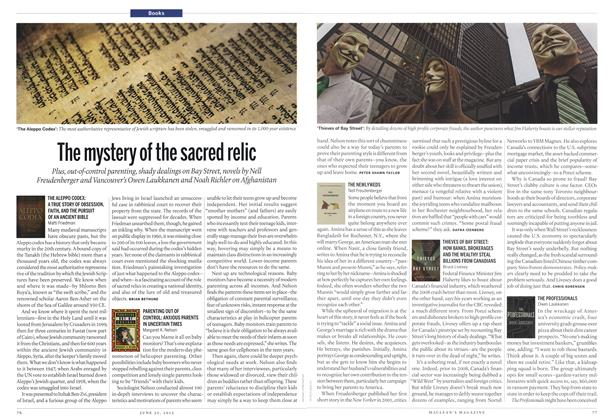 Article Preview: The mystery of the sacred relic, June 2012 | Maclean's