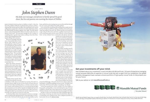 Article Preview: John Stephen Dunn, June 2012 | Maclean's