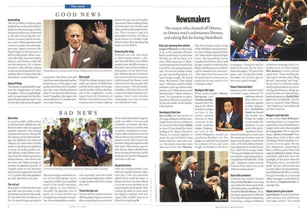 Article Preview: Newsmakers, June 2012 | Maclean's