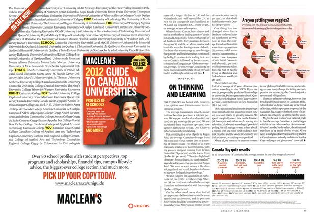 Article Preview: Canada Day quiz results, July 2012 | Maclean's