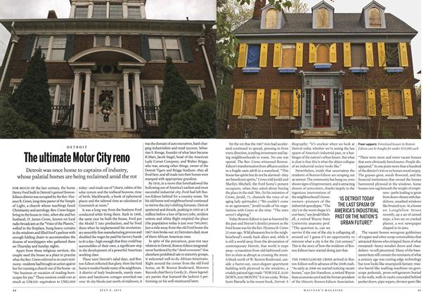 Article Preview: The ultimate Motor City reno, July 2012 | Maclean's