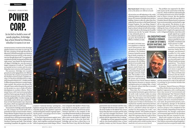 Article Preview: POWER CORP., July 2012 | Maclean's