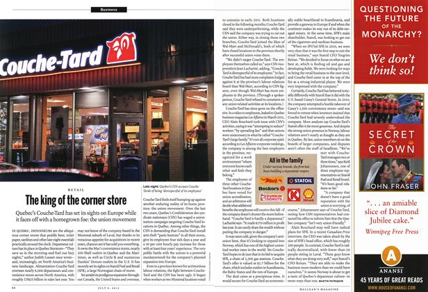 Article Preview: The king of the corner store, July 2012 | Maclean's