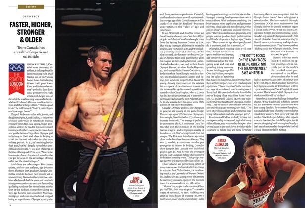 Article Preview: FASTER, HIGHER, STRONGER & OLDER, July 2012 | Maclean's