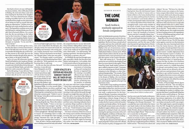 Article Preview: THE LONE WOMAN, July 2012 | Maclean's