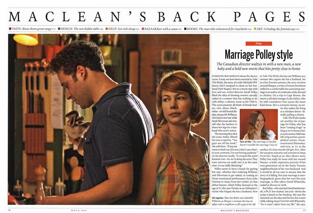 Article Preview: Marriage Polley style, July 2012 | Maclean's