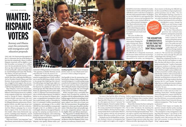 Article Preview: WANTED: HISPANIC VOTERS, July 2012 | Maclean's