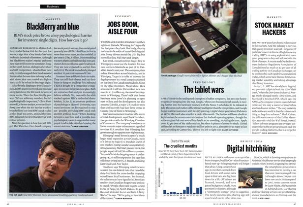 Article Preview: STOCK MARKET HACKERS, July 2012 | Maclean's