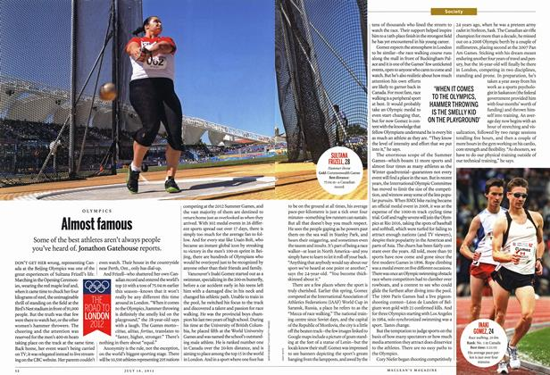 Article Preview: Almost famous, July 2012   Maclean's
