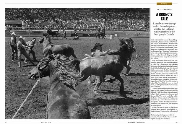 Article Preview: A BRONC'S TALE, July 2012 | Maclean's