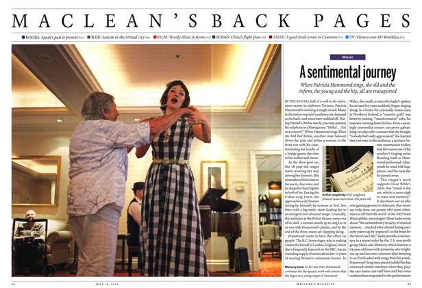 Article Preview: A sentimental journey, July 2012 | Maclean's