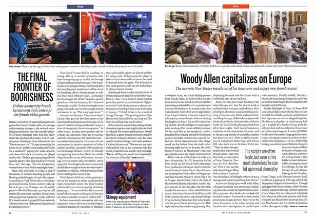 Article Preview: Woody Allen capitalizes on Europe, July 2012 | Maclean's