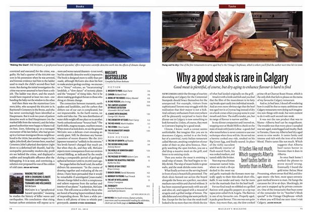 Article Preview: Why a good steak is rare in Calgary, July 2012 | Maclean's