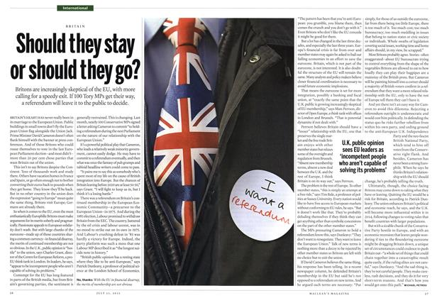 Article Preview: Should they stay or should they go?, July 2012 | Maclean's