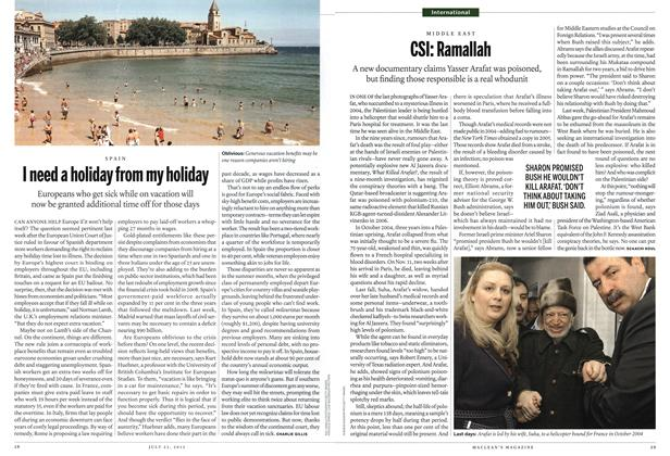 Article Preview: CSI: Ramallah, July 2012 | Maclean's