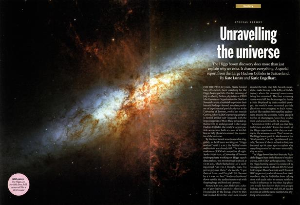 Article Preview: Unravelling the universe, July 2012 | Maclean's
