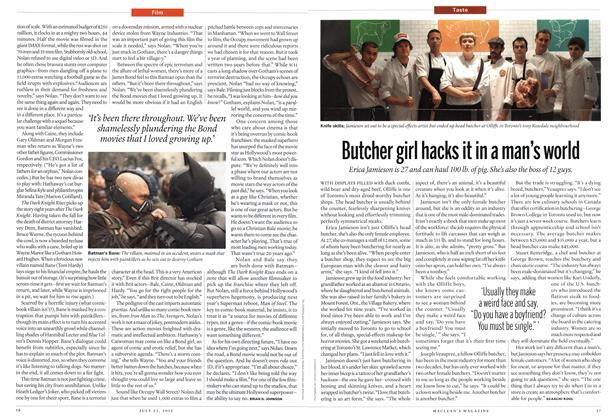 Article Preview: Butcher girl hacks it in a man's world, July 2012 | Maclean's
