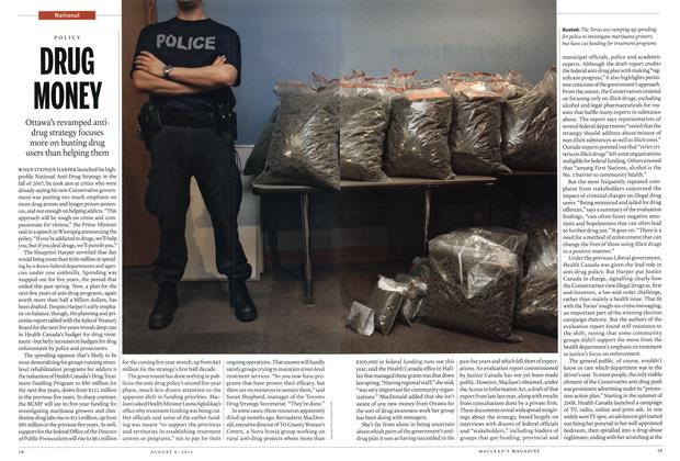 Article Preview: DRUG MONEY, August 2012 | Maclean's