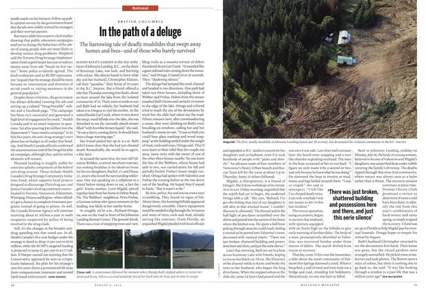 Article Preview: In the path of a deluge, August 2012 | Maclean's