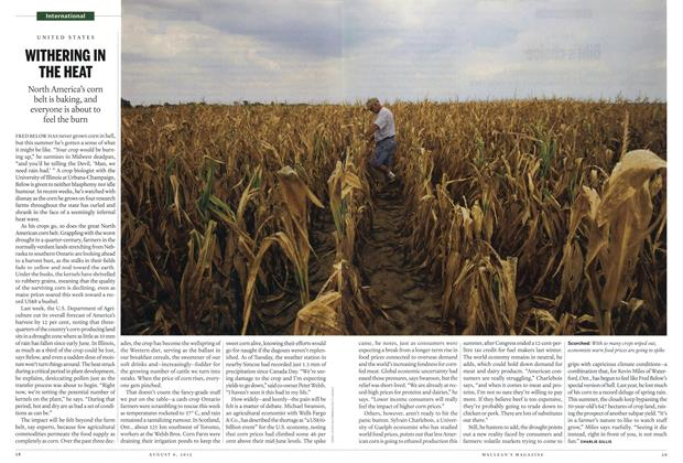 Article Preview: WITHERING IN THE HEAT, August 2012 | Maclean's