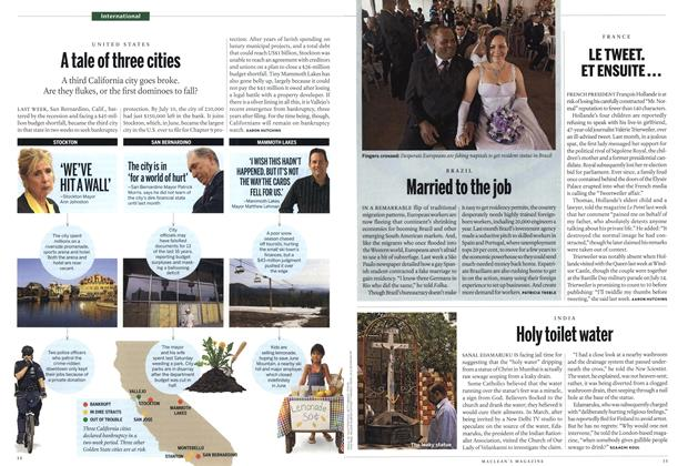 Article Preview: Married to the job, August 2012 | Maclean's