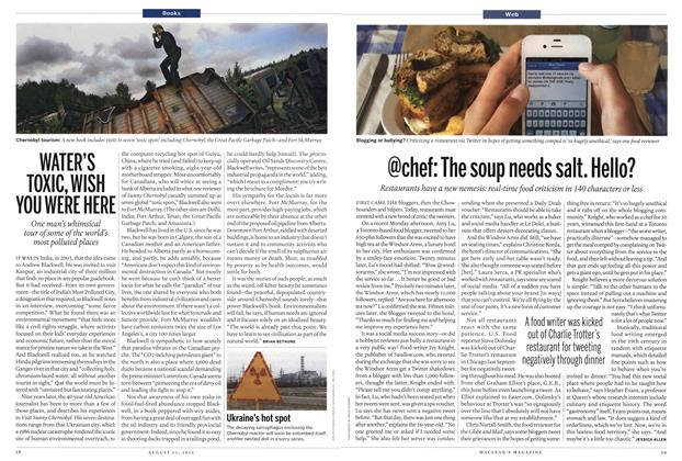 Article Preview: @chef: The soup needs salt. Hello?, AUGUST 13,2012 2012 | Maclean's