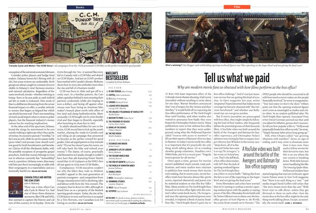 Article Preview: Tell us what we paid, AUGUST 13,2012 2012 | Maclean's