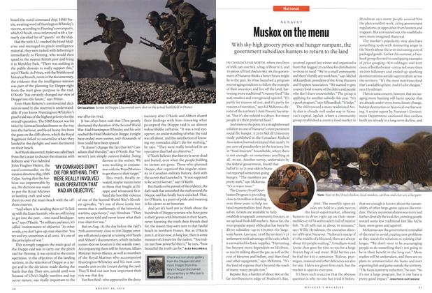 Article Preview: Muskox on the menu, August 2012 | Maclean's