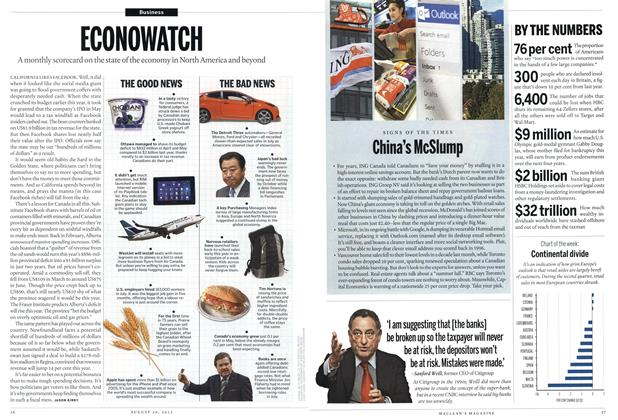 Article Preview: China's McSlump, August 2012 | Maclean's