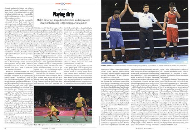 Article Preview: Playing dirty, August 2012 | Maclean's