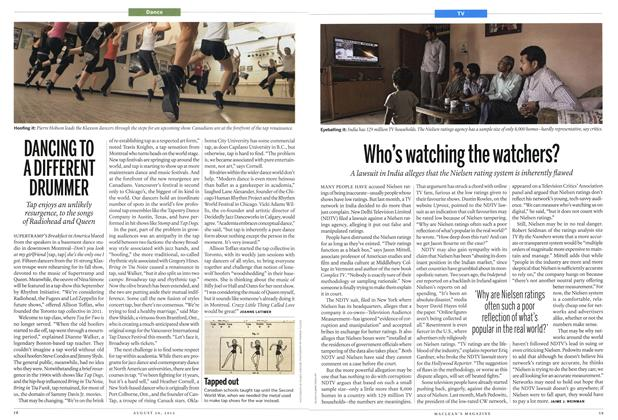 Article Preview: DANCING TO A DIFFERENT DRUMMER, August 2012 | Maclean's