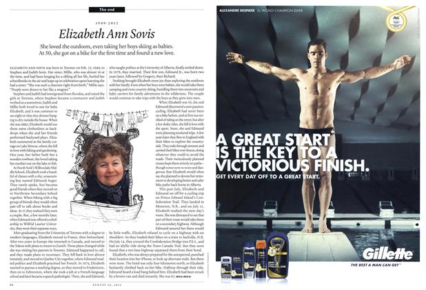 Article Preview: Elizabeth Ann Sovis, August 2012 | Maclean's