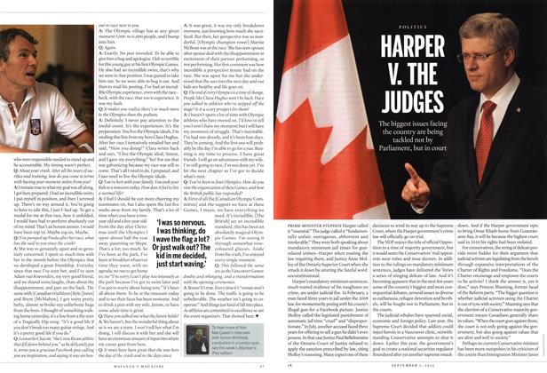 Article Preview: HARPER V. THE JUDGES, SEPT. 3, 2012 2012 | Maclean's
