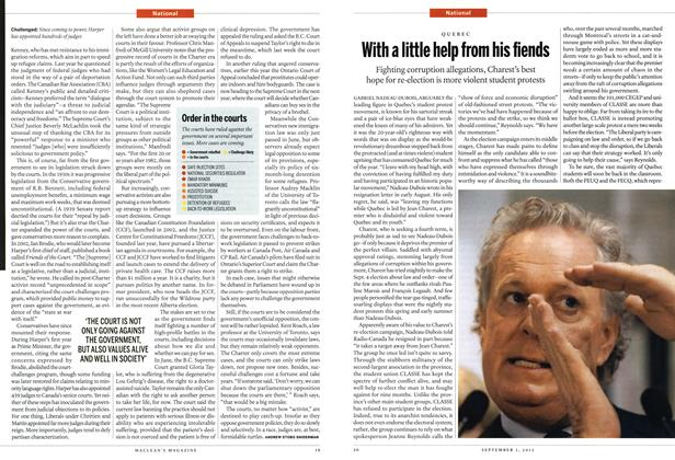 Article Preview: With a little help from his fiends, SEPT. 3, 2012 2012 | Maclean's