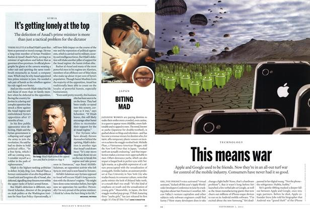 Article Preview: BITING MAD, SEPT. 3, 2012 2012 | Maclean's