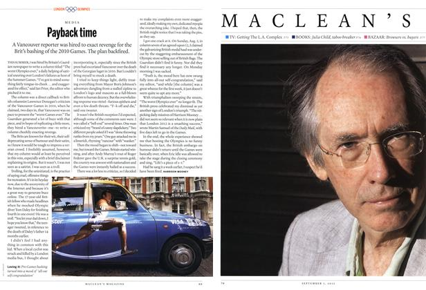 Article Preview: Payback time, SEPT. 3, 2012 2012 | Maclean's